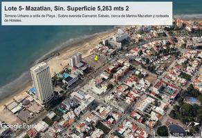 Foto de terreno comercial en venta en avenida camaron sabalo lote 5, sábalo country club, mazatlán, sinaloa, 0 No. 01
