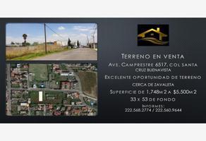 Foto de terreno habitacional en venta en avenida camprestre, colonia santa cruz buenavista 6517, santa cruz buenavista, puebla, puebla, 17146844 No. 01