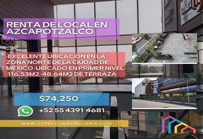 Foto de local en renta en avenida centenario , centro de azcapotzalco, azcapotzalco, df / cdmx, 18894800 No. 01