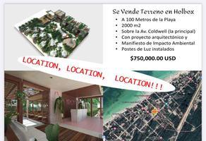Foto de terreno habitacional en venta en avenida coldwell 0, isla de holbox, lázaro cárdenas, quintana roo, 0 No. 01