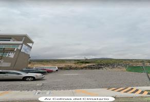 Foto de terreno comercial en venta en avenida colinas del cimatario , colinas del cimatario, querétaro, querétaro, 16389094 No. 01