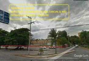 Foto de terreno comercial en venta en avenida colosio , doctores ii, benito juárez, quintana roo, 0 No. 01