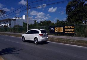 Foto de terreno habitacional en venta en avenida colosio lote 14 , cancún centro, benito juárez, quintana roo, 0 No. 01