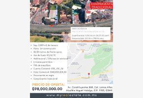 Foto de terreno comercial en venta en avenida constituyentes 868, lomas altas, miguel hidalgo, df / cdmx, 13755990 No. 01