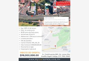 Foto de terreno comercial en venta en avenida constituyentes 868, lomas de chapultepec vii sección, miguel hidalgo, df / cdmx, 0 No. 01