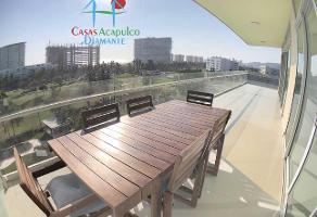 Foto de departamento en venta en avenida costera de las palmas esquina villa castelli 3, copacabana, acapulco de juárez, guerrero, 12626525 No. 01