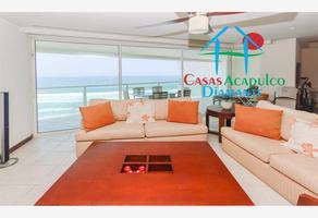 Foto de departamento en venta en avenida costera de las palmas lote h 8-b las olas, playa diamante, acapulco de juárez, guerrero, 0 No. 01