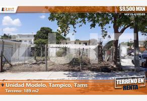 Foto de terreno habitacional en renta en avenida de los escultores 601, unidad modelo, tampico, tamaulipas, 9061025 No. 01