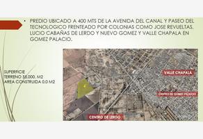 Foto de terreno habitacional en venta en avenida del canal 200, san isidro, lerdo, durango, 13259230 No. 01