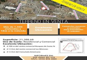 Foto de terreno comercial en venta en avenida ejercito nacional , puesta del sol, juárez, chihuahua, 17939419 No. 01