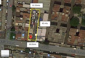 Foto de terreno habitacional en venta en avenida emilio carranza , el retoño, iztapalapa, df / cdmx, 0 No. 01