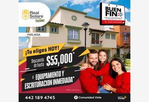 Foto de casa en venta en avenida epigmenio gonzález 3, real solare, el marqués, querétaro, 0 No. 01