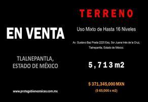 Foto de terreno comercial en venta en avenida gustavo baz prada , tlalnepantla centro, tlalnepantla de baz, méxico, 13798985 No. 01