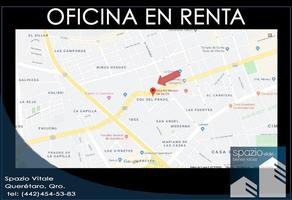 Foto de oficina en renta en avenida ignacio zaragoza , el prado, querétaro, querétaro, 0 No. 01