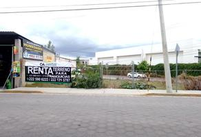 Foto de terreno comercial en renta en avenida juan blanca 1312, san cristóbal tepontla, san pedro cholula, puebla, 0 No. 01