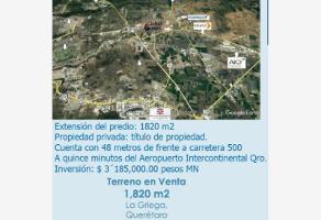 Foto de terreno comercial en venta en avenida las torres xx, san francisco juriquilla, querétaro, querétaro, 0 No. 01