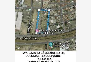 Foto de terreno industrial en venta en avenida lázaro cárdenas 34, colonial tlaquepaque, san pedro tlaquepaque, jalisco, 0 No. 01