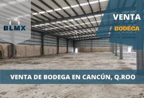Foto de nave industrial en venta en avenida lópez portillo , cancún centro, benito juárez, quintana roo, 18574379 No. 01