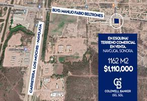 Foto de terreno habitacional en venta en avenida manlio fabio beltrones , sop, navojoa, sonora, 12518912 No. 01
