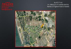 Foto de terreno habitacional en venta en avenida méxico , nuevo vallarta, bahía de banderas, nayarit, 6832039 No. 01