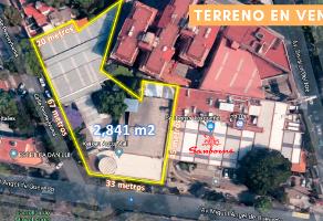 Foto de terreno habitacional en venta en avenida miguel angel de quevedo , parque san andrés, coyoacán, df / cdmx, 14175086 No. 01