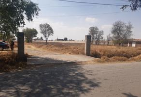 Foto de terreno habitacional en venta en avenida miguel hidalgo 109, san pedro totoltepec, toluca, méxico, 0 No. 01