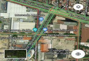 Foto de terreno habitacional en venta en avenida moliere , ampliación granada, miguel hidalgo, df / cdmx, 6295708 No. 01