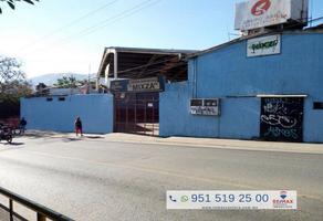 Foto de bodega en renta en avenida montoya , netzahualcoyotl, oaxaca de juárez, oaxaca, 5966023 No. 01