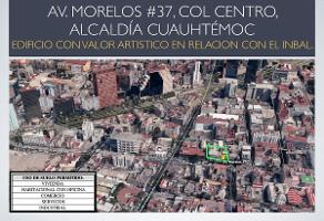 Foto de terreno habitacional en venta en avenida morelos , centro (área 2), cuauhtémoc, df / cdmx, 11310069 No. 01