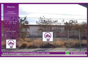 Foto de terreno habitacional en renta en avenida palacio de justicia 100, del maestro, monterrey, nuevo león, 0 No. 01