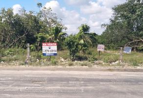 Foto de terreno comercial en venta en avenida palma real , cancún centro, benito juárez, quintana roo, 16799991 No. 01