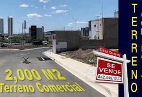 Foto de terreno comercial en venta en avenida paseo de la república , juriquilla, querétaro, querétaro, 0 No. 01