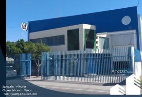 Foto de nave industrial en renta en avenida peñuelas , peñuelas, querétaro, querétaro, 13987224 No. 01