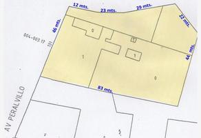 Foto de terreno habitacional en venta en avenida peralvillo 1, morelos, cuauhtémoc, df / cdmx, 16295639 No. 01