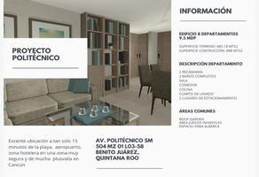 Foto de edificio en venta en avenida politecnico 1, región 504, benito juárez, quintana roo, 0 No. 01