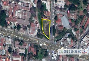 Foto de terreno comercial en renta en avenida porfirio diaz , reforma, oaxaca de juárez, oaxaca, 5965971 No. 01