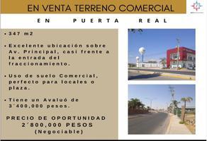 Foto de terreno comercial en venta en avenida principal conocido, puerta real, corregidora, querétaro, 0 No. 01