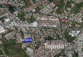 Foto de terreno industrial en venta en avenida prolongación josefa ortiz de dominguez , colinas del bosque 2a sección, corregidora, querétaro, 13005441 No. 01