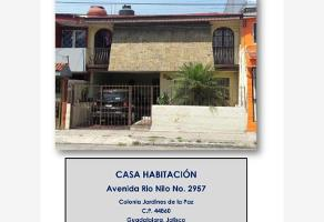 Foto de casa en venta en avenida rio nilo 000, jardines de la paz, guadalajara, jalisco, 0 No. 01