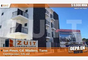 Foto de departamento en renta en avenida rosalio bustamante 310, los pinos, ciudad madero, tamaulipas, 0 No. 01