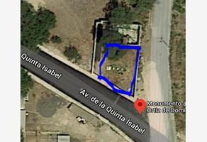 Foto de terreno habitacional en venta en avenida saltillo y avenida quinta isabel , barrio la cañada, huehuetoca, méxico, 0 No. 01