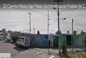 Foto de terreno comercial en venta en avenida san pablo xochimehuacan , santa maría la rivera, puebla, puebla, 0 No. 01