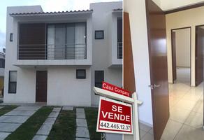 Foto de casa en venta en avenida santa fe , juriquilla santa fe, querétaro, querétaro, 14368540 No. 01