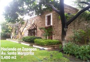 Foto de rancho en venta en avenida santa margarita 606, santa margarita, zapopan, jalisco, 0 No. 01