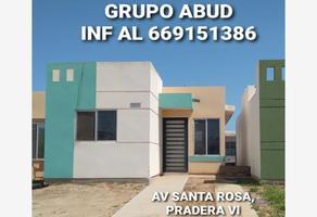 Foto de casa en venta en avenida santa rosa x, pradera dorada i, mazatlán, sinaloa, 0 No. 01