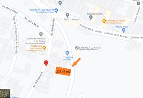 Foto de terreno habitacional en venta en avenida sub estación , san mateo nopala, naucalpan de juárez, méxico, 0 No. 01