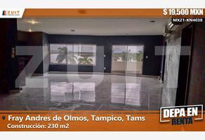 Foto de departamento en renta en avenida tancol 214, fray andres de olmos, tampico, tamaulipas, 0 No. 01