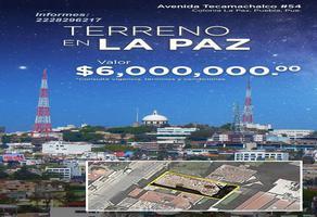 Foto de terreno habitacional en venta en avenida tecamachalco 54, la paz, puebla, puebla, 19962762 No. 01