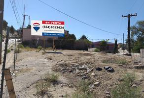 Foto de terreno comercial en venta en avenida televisión , monte san antonio, tijuana, baja california, 5964030 No. 01