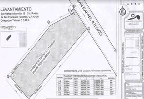 Foto de terreno habitacional en venta en avenida tlahuac , san francisco tlaltenco, tláhuac, df / cdmx, 18380070 No. 01